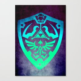 Zelda Shield Canvas Print