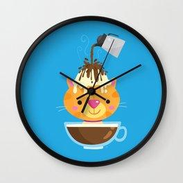 Affogato Wall Clock