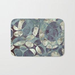 Background Metallic Ocean II Bath Mat
