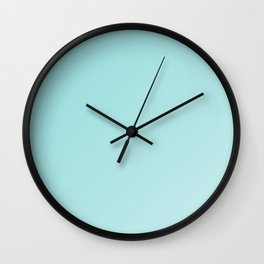 Cooling depths of limpet blue gradient Wall Clock