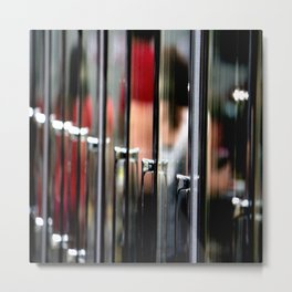 Reflections Were Not People Metal Print