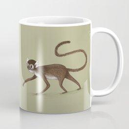 Squirrel Monkey Walking Coffee Mug