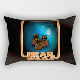 Bear Wars - the Wawas Rectangular Pillow