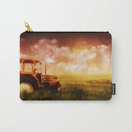 Tractor Oil Painting  Carry-All Pouch