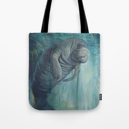 Undead Manatee Tote Bag