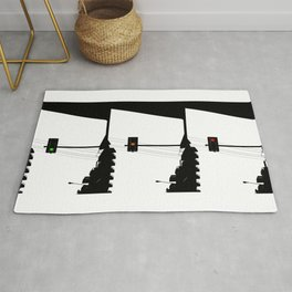 Traffic lights sequence Rug