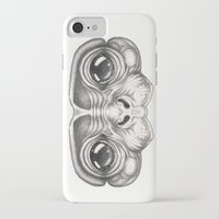 monkey iPhone & iPod Cases featuring Monkey by Zina Nedelcheva
