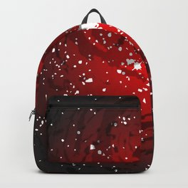 Black Hole Background Backpack