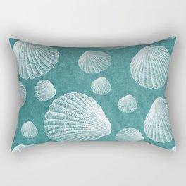 Sea Shells Pattern Rectangular Pillow