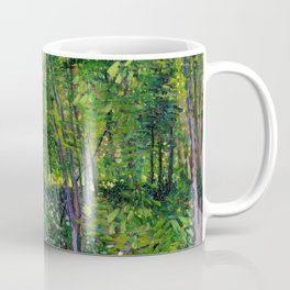 Vincent Van Gogh Trees and Undergrowth 1887 Coffee Mug