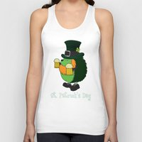 patrick Tank Tops featuring Patrick The Hedgehog by mangulica illustrations