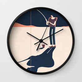SEARCH Wall Clock
