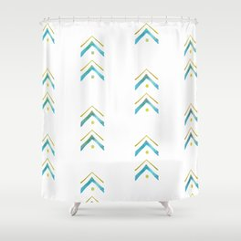 Mountain Vibes Shower Curtain