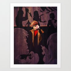 No Fool's Gambit Art Print