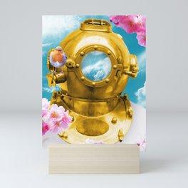 Flower Diving Mini Art Print