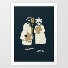 Urban Fae — Treasure Hunters Art Print