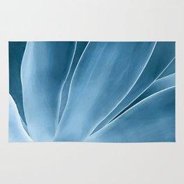 Agave blue Rug