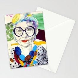 Iris Apfel Fanart Stationery Cards