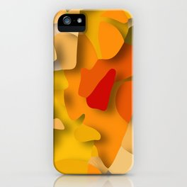 red spot iPhone Case