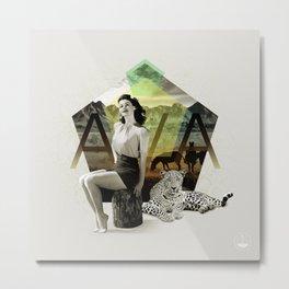 Divas: Ava Gardner. Metal Print