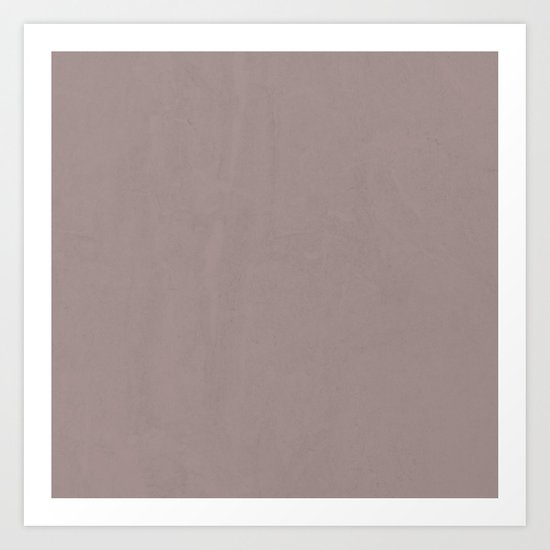 Simply Red Earth Art Print