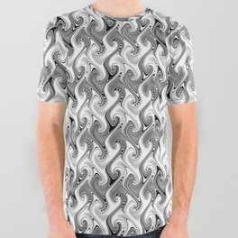 2018 xirja design 20 year print All Over Graphic Tee