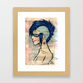 Mohawk Framed Art Print