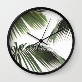 Fronds Wall Clock