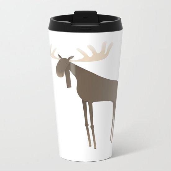 Moose Metal Travel Mug