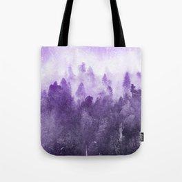 Ultra Violet Adventure Forest Tote Bag