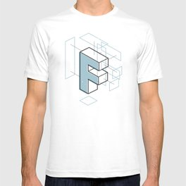 The Exploded Alphabet / F T-shirt
