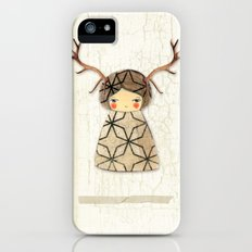 Deer paperdolls iPhone (5, 5s) Slim Case