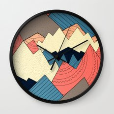 Mountain Range Wall Clock