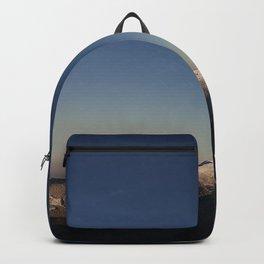 mountains, sky, night, vertex Backpack