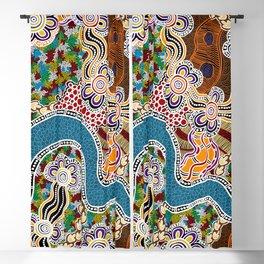 Authentic Aboriginal Art -  Blackout Curtain