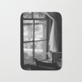 window in time Bath Mat