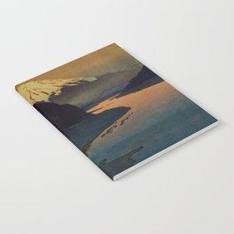Sunset at Aga Notebook