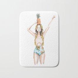Anana | Fashion Illustration Bath Mat