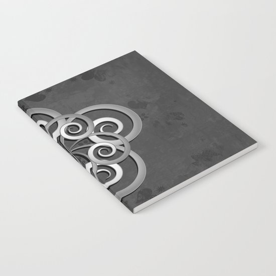 Beautiful Celtic style design Notebook