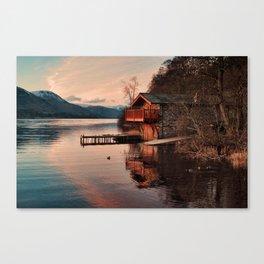 Duke Of Portland Boathouse Canvas Print