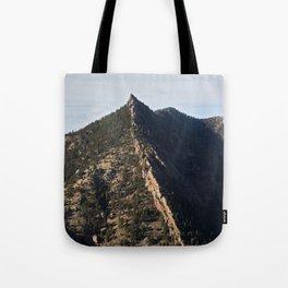 Sacred Cliffs Tote Bag