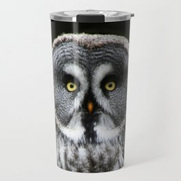 The Great Grey Owl Travel Mug