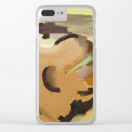 Buried Treasure Clear iPhone Case