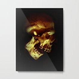 afterlife gold Metal Print