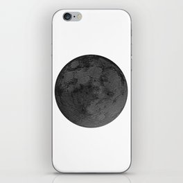 BLACK MOON iPhone Skin