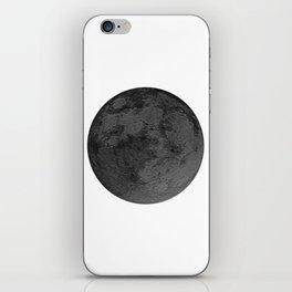 BLACK MOON iPhone Skin