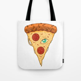 Pizza Eye Tote Bag