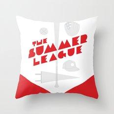 The Summer League Throw Pillow