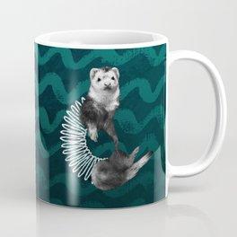 Ferret Slinky Coffee Mug