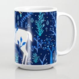 Deericorn In Blue Coffee Mug